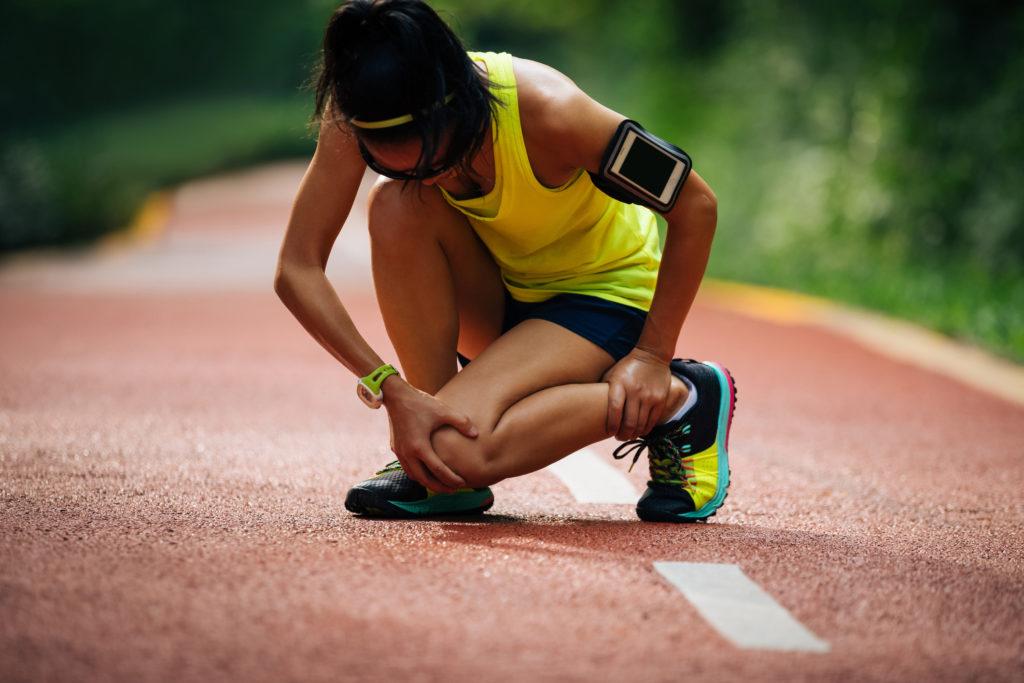 Crampe pendant la course à piedsignifications et solutions