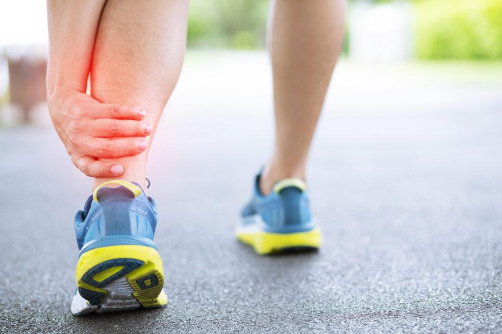 Footingque faire en cas de douleur à la cheville