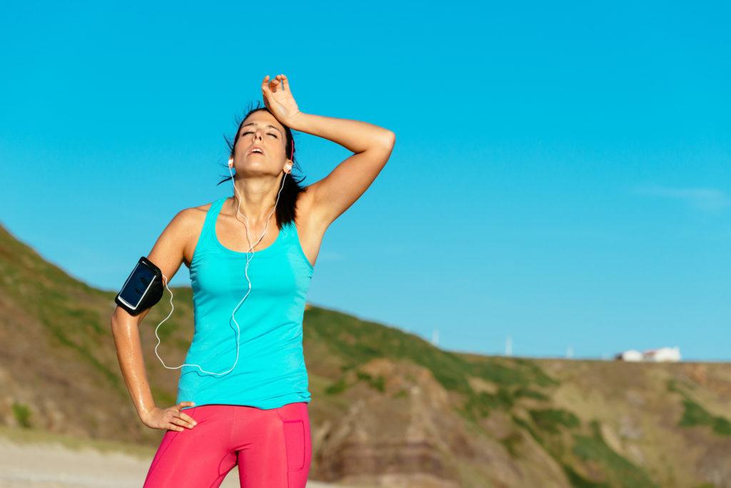 Hyponatrémie et déshydratation pendant la course à pied